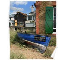 Whitstable Oyster Co Poster