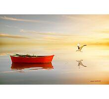 Soft Sunset on the Beach 13 Photographic Print