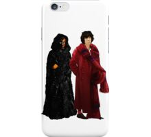 Doctor Who - Fourth Doctor and The Master iPhone Case/Skin