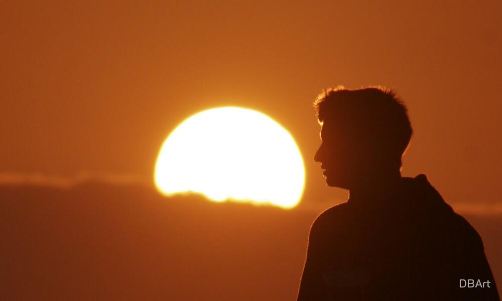 shining sun by DBArt