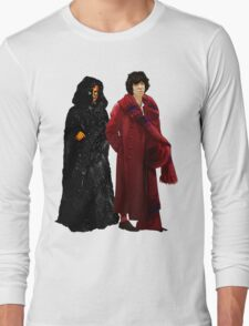 Doctor Who - Fourth Doctor and The Master Long Sleeve T-Shirt