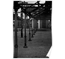 Empty Market Poster