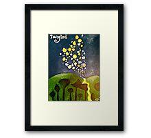 Tangled Framed Print