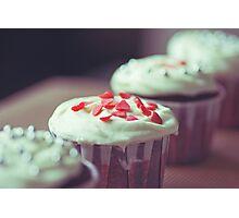 Red Velvet Cupcakes Photographic Print