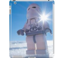 There isn't enough life on this ice cube to fill a space cruiser iPad Case/Skin