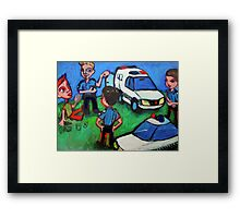 Your Chariot Awaits Framed Print
