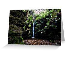 Secret Falls,Cascade,Tasmania  Greeting Card