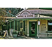 Greendale Hotel Meals and Provisions, Hotel and Store Victoria Photographic Print