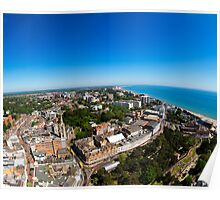 Bournemouth from above 2 Poster