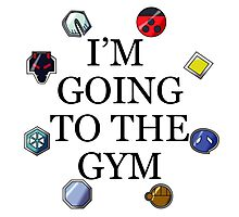 I'm Going To The Gym - Johto Photographic Print