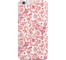 Abstract watercolor pattern 2 iPhone Case/Skin