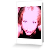 Self portait  ** Greeting Card