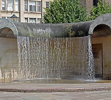 Water Feature, Derby by Rod Johnson