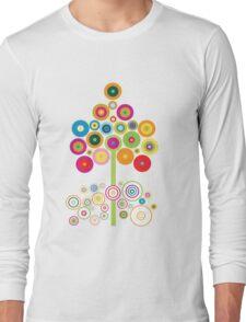 colors tree Long Sleeve T-Shirt
