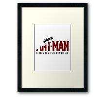 Antman Framed Print