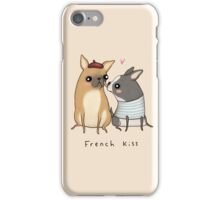 French Kiss iPhone Case/Skin