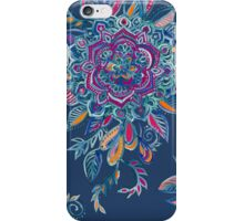 Deep Summer - Watercolor Floral Medallion iPhone Case/Skin