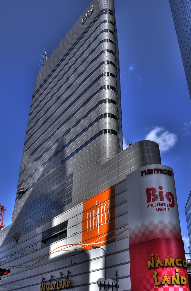 Namco building by diamond-tokyo