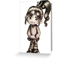 Vanellope Von Sweetz Greeting Card
