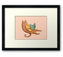 The Cat's Mother Framed Print