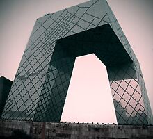 Beijing communications tower by Speedy
