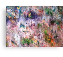 Misty Forested Landscape Canvas Print