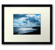 The Ever Waiting Sea Framed Print