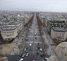 The long road through Paris by nikkinakki