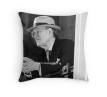 the ghost of john mortimer Throw Pillow