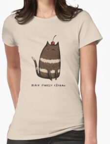 Black Forest Câteau Womens Fitted T-Shirt