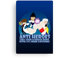 Anti Heroes Canvas Print