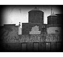 water towers Photographic Print