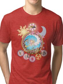 Bride of Discord Titled Stained Glass Tri-blend T-Shirt