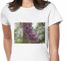 Foxglove Tears - A Rainy Garden in London Womens Fitted T-Shirt