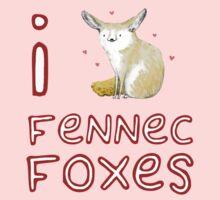 Fennec Fox Love T-Shirt
