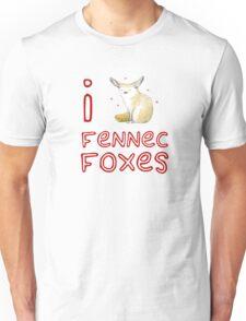 Fennec Fox Love Unisex T-Shirt