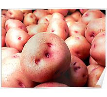 The Farmer's Pink Potatoes Poster