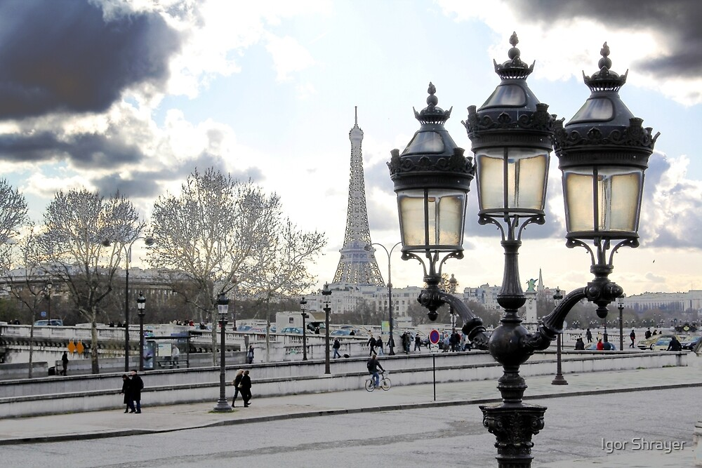 Parisian Mosaic - Piece 17 - Blue Day by Igor Shrayer