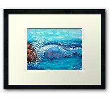 Dad's Ocean Framed Print