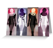 Body Language 37 Greeting Card