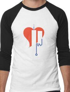 Love NY Men's Baseball ¾ T-Shirt