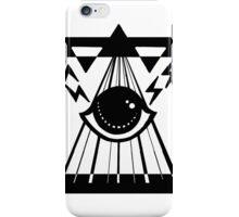 dark psychic attack iPhone Case/Skin