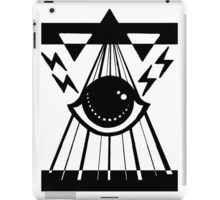 dark psychic attack iPad Case/Skin