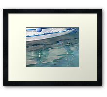 Reflection - JUSTART © Framed Print