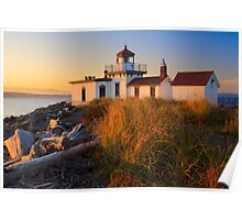 West Point Lighthouse Poster