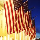 Congress Hall Cape May NJ Flags by schiabor