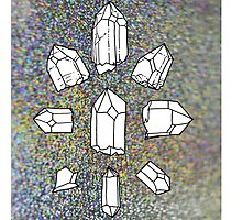 crystal collection Photographic Print