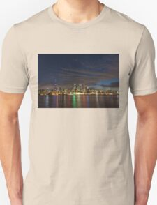 Toronto's Dazzling Skyline Across the Lake T-Shirt
