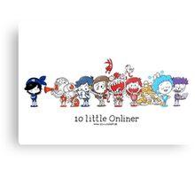 10 little Onliner Metal Print
