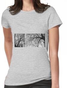 skeletal Womens Fitted T-Shirt